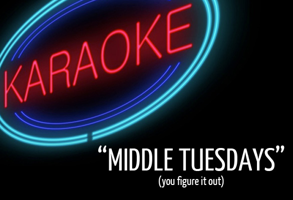 Karaoke on 2nd Tuesdays